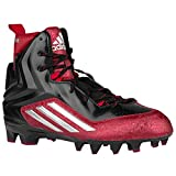 (アディダス)adidas 15.0 BlackPlatinumPower Red crazyquick クイック アメフト スパイク 2.0 high ハイ ハイカット men's メンズ 男性用 - black ブラック / grey 【並行輸入品】