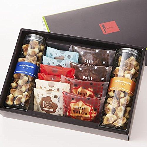 エール・エルアソート【A】 1箱 ( 焼き菓子 3種 詰め合わせ ) コロコロワッフル クッキー