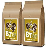 【Amazon.co.jp 限定】 ビーンズ トーク モカブレンド コーヒー 1kg (500g × 2) (豆のまま)