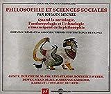 Pholosophie Et Sciences Social