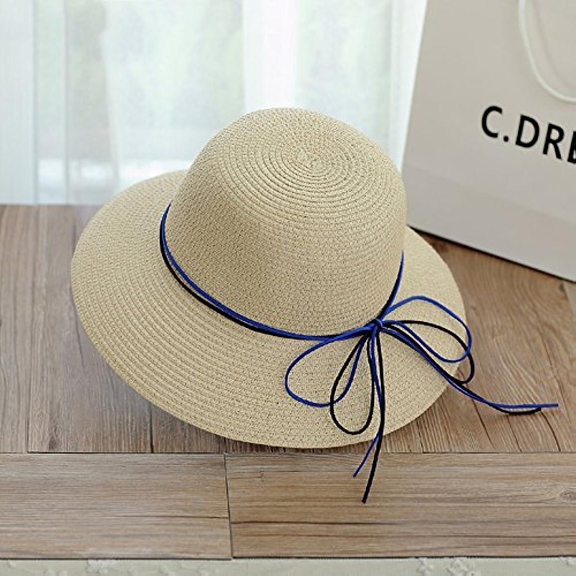 専門化する趣味修士号日よけ帽 女性の夏太陽の帽子顔を覆う日焼け止めのビーチ帽子蝶タイの帽子 ( 色 : 5 )