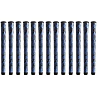 Winn DriTac X標準ブルー/ブラックゴルフグリップバンドル(13個)