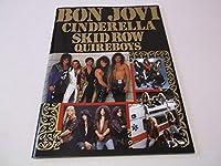 ≪ FINAL COUNT DOWN'90 パンフ BON JOVIボンジョヴィ シンデレラ スキッドロウ クワイアボーイズ 状態良好♪