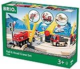 BRIO レール&ロードクレーンセット 33208
