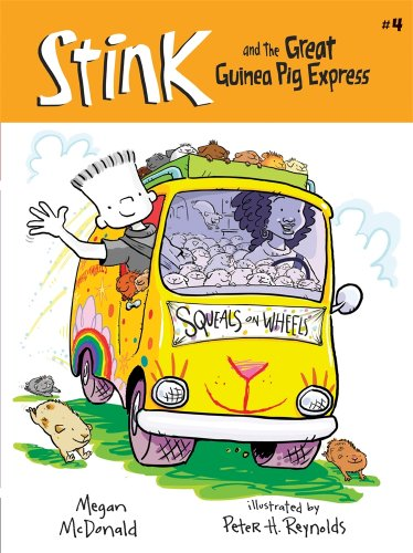 Stink and the Great Guinea Pig Express (Book #4)の詳細を見る