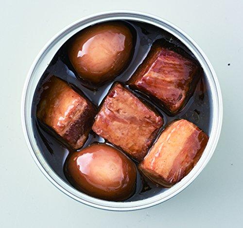 『明治屋 おいしい缶詰 豚肉の黒酢角煮(うずら卵入り)75g×2個』の1枚目の画像