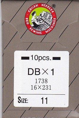 オルガンミシン針 No11 工業用 DB 1袋 10本入...