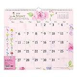 ミドリ 2020年 カレンダー 壁掛け カントリータイム花柄 L 30191006