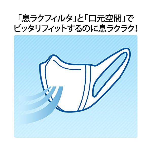 (日本製 PM2.5対応)超立体マスク かぜ・...の紹介画像5