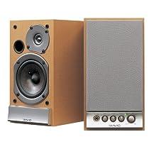 ONKYO WAVIO アンプ内蔵スピーカー 15W+15W ハイレゾ音源対応 木目 GX-D90(Y)