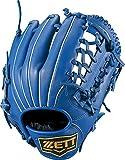ZETT(ゼット) 少年野球 軟式 グラブ (グローブ) グランドヒーローライジング オールラウンド ピッチャー 内野手 外野手 右投用 ブルー(2300) LH BJGB72850