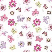 Summer Infant SwaddleMe Adjustable Infant Wrap Flutter Flowers Small/Medium (Discontinued by Manufacturer) [並行輸入品]