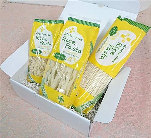 JAタウン 米粉パスタ3種お試しセット(3種×各1袋)