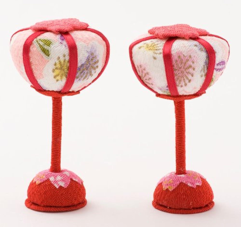 ひな人形 小さい 雪洞 ぼんぼり 小道具 Shop Original ミニ匂袋セット 桜 ボンボリ リュウコドウ