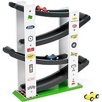 デラックス木製Stock Car Ramp Racers