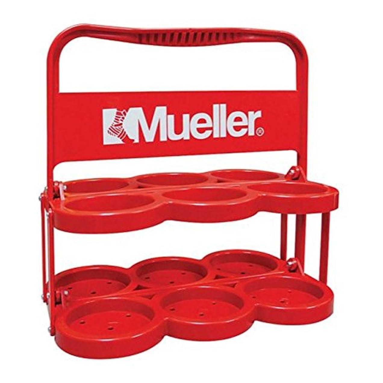 夜明けに記者船上ミューラー(Mueller) ウォーターボトルキャリー レッド 919000