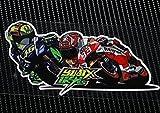 MotoGP 46 Valentino Rossi vs 93 Marc Márquez ステッカー [並行輸入品]
