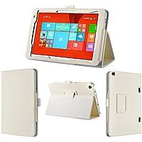 wisers 東芝 Toshiba dynabook Tab S38 S68 タブレット 専用 ケース カバー ホワイト