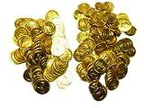 海賊 金貨 200枚コインセットコスチューム用小物 直径3.5cm (¥ 1,780)
