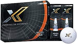 DUNLOP(ダンロップ) ゴルフボール XXIO ゼクシオ エックス ゴルフボール 1ダース(12個入り) ホワイト