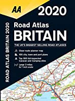 AA 2020 Road Atlas Britain (Aa Road Atlas)