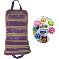 Purple Hanging Storage Organiser Combo Pack with Colour Pop Tsum Tsum Blind Pack