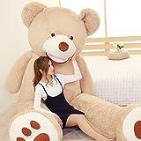 IKASA ぬいぐるみ 特大 くま テディベア 可愛い熊 動物 大きい くまぬいぐるみ 熊縫い包み クマ 抱き枕 お祝い ふわふわ  お人形 女の子 男の子 子供 女性 抱き枕 プレゼント ビッグサイズ 160CM