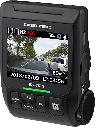 COMTEC (コムテック) ドライブレコーダー HDR-751G B078W6Q7B9 1枚目