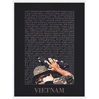 ベトナムメモリ壁by Peter Marlow–24x 32インチ–アートプリントポスター LE_62017-F8989-24x32