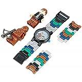 [レゴ ウォッチ] LEGO WATCH 腕時計 スターウォーズ ハン・ソロ & チューバッカ キッズ 8020400 [並行輸入品]
