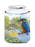Carolines Treasures ASAD0692CC Kingfisher by Sarah Adams Can or Bottle Hugger