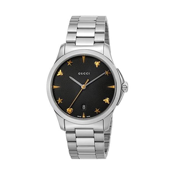 [グッチ]GUCCI 腕時計 Gタイムレス ブラ...の商品画像