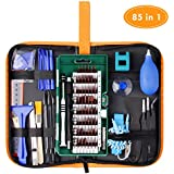 85 in 1 Precision Screwdriver Set, WOWGO Electronics Repair Tool Set, Magnetic Driver Kit with Premium Portable Bag for Cell Phone, iPhone, iPad, Watch, PC, Laptop and more