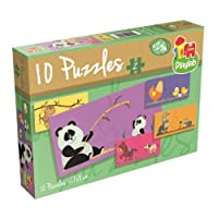 Playlab 10 Jigsaw Puzzles in-a-box ( 2ピース) by Playlab