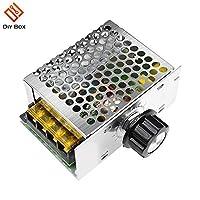 AiCheaXツール-電気炉給湯器LEDライト用4000W 220V AC SCRモーター速度コントローラーモジュールの電圧調整器の温度調光器
