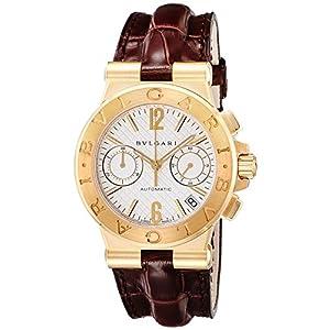 [ブルガリ]BVLGARI 腕時計 ディアゴノ ホワイト文字盤 DG35C6GLDCH メンズ 【並行輸入品】