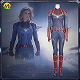 高級品 COSPLAY キャプテン・マーベル 映画 キャロル・ダンバース Captain Marvel Carol Danvers コスプレ衣装