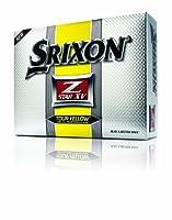 Srixon Z Star XV Balles de golf Jaune Lot de 12