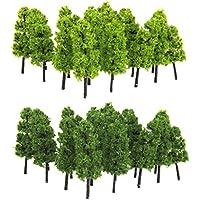 【ノーブランド品】樹木 仏塔の木 モデルツリー 20本 鉄道模型 ジオラマ 箱庭 鉄道風景