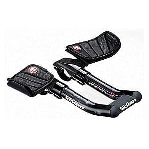 Vision Team Mini TT Clip-Ons Aero Bar 31.8mm x 170mm UCI Legal by Vision