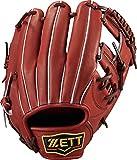 ZETT(ゼット) 野球 軟式 グラブ (グローブ) プロステイタス セカンド・ショート 右投用 ボルドーブラウン(4000) LH BRGB30830