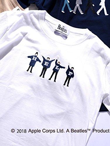 (シップス) SHIPS SU: BEATLES Tシャツ■ 112115017 日本 M-(日本サイズM相当) Off White2