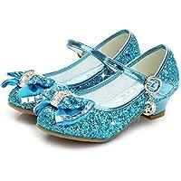 Bumud Girls' Mary Jane Heel Pumps