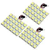 【断トツ216発!!】 200系 ハイエース4型DX標準 LED ルームランプ 3点セット [H25.12~] トヨタ 基板タイプ 圧倒的な発光数 3chip SMD LED 仕様 室内灯 カー用品 HJO
