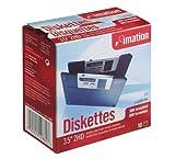 イメーション 3.5インチFD DOS/Vフォーマット10枚入 紙箱×1 US仕様品  MF2HD-WIN-10KS
