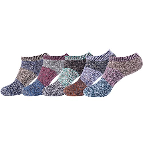 5足セット 靴下 メンズ 混纺糸風通し 春夏 くるぶしソックス 24~27cm