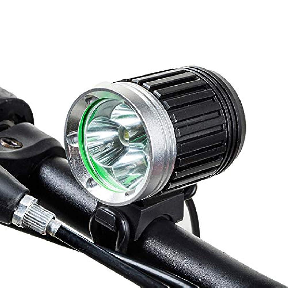メイト意図する宅配便マウンテンバイクライト、ヘッドライトT6グレア懐中電灯、防水および耐衝撃性の夜乗馬機器