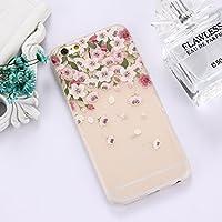 IPhone 6 Plusと6s Plusに適したTPUフロストエンボススイカパターン保護ケースの裏表紙 Jiangmadam (Color : Color12)