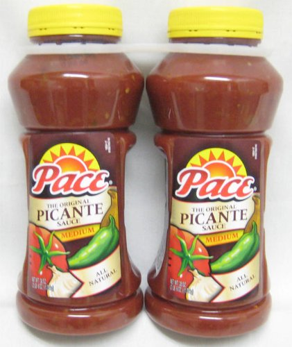 PACE PICANTE ピカンテソース(ミディアム)1.08kg 2本セット -