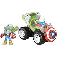 Playskool Heroes Super Hero Adventures Captain America ATV Toy 2